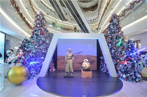 上海iapm商场《星球大战64:原力觉醒》电影主题展