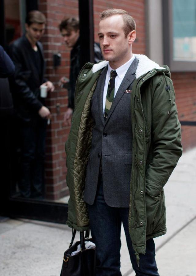 羊羔绒外套如何驾驭 穿起来像有内涵和品位的有钱人?