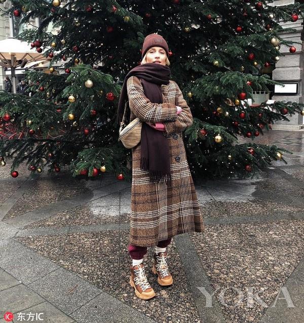 时尚博主Viktoria Rader(图片来自IC)
