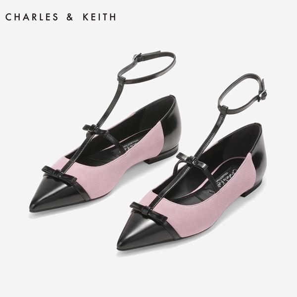 CHARLES&KEITH尖头芭蕾低跟鞋 价格约519元  图片源自品牌