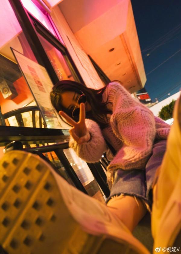 倪妮(图片来源:倪妮微博)