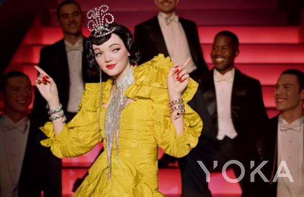 Gucci广告大片以¡¶绅士爱美人¡·£¨1953年£©为灵感
