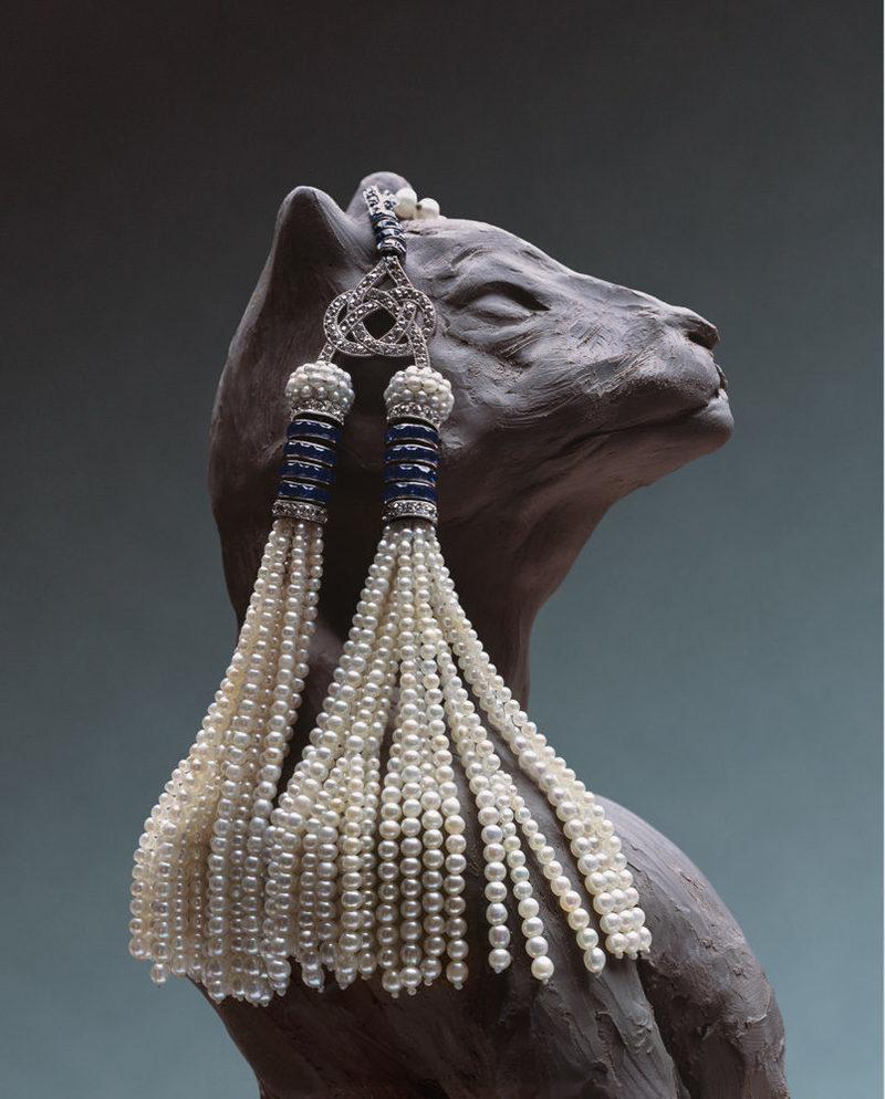 经典再次复古回归 魅力无穷摇曳生姿的流苏珠宝(1)