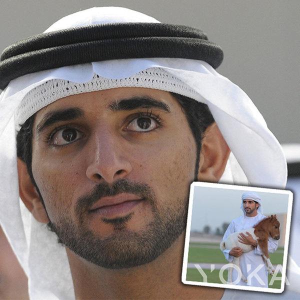 迪拜哈曼丹王子(图片来源于hellomagazine)