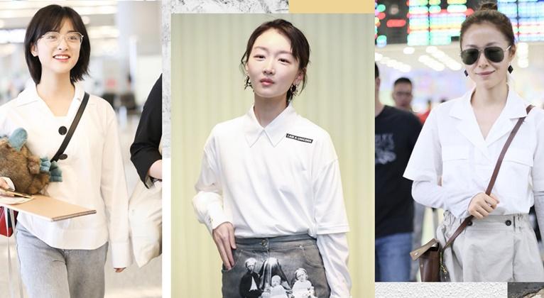 女生愛穿的白襯衫,其實很man
