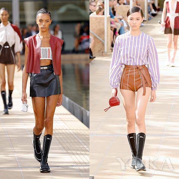 2020春夏纽约时装周:Longchamp