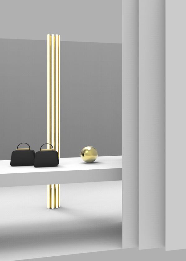 Valextra Flute系列落地灯 由Michael Anastassiades设计