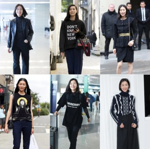 Isn't it monotonous to wear all black?  These 3 methods Liu Wen wants to talk to you!