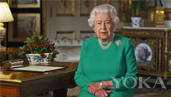 英國女王(圖片來源于dailymail)