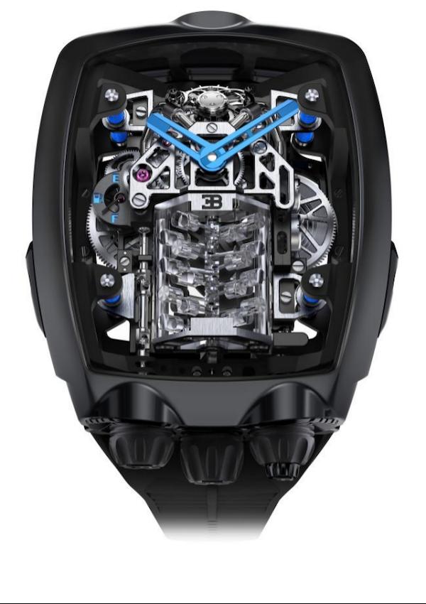 杰克宝携手布加迪打造全新CHIRON凯龙系列陀飞轮腕表