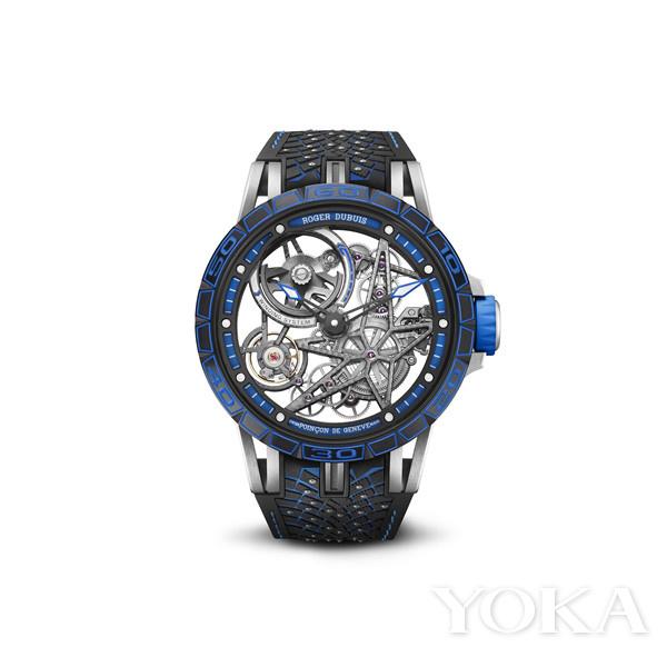 单品推荐:罗杰杜彼Excalibur Pirelli Ice Zero 2 Spider美洲限量版腕表(图片来源于品牌)