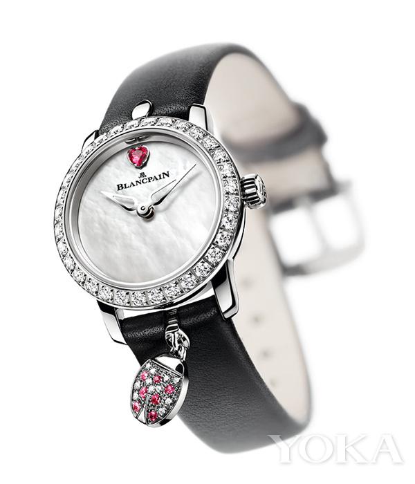 单品推荐:宝珀女装系列贵妇鸟Ladybird腕表(图片来源于品牌)