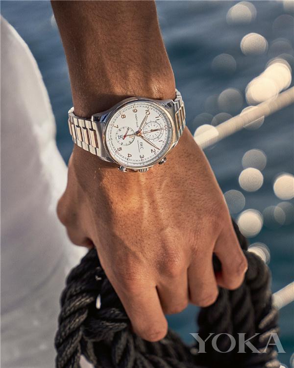 单品推荐:IWC万国表葡萄牙系列航海精英计时腕表(图片来源于品牌)