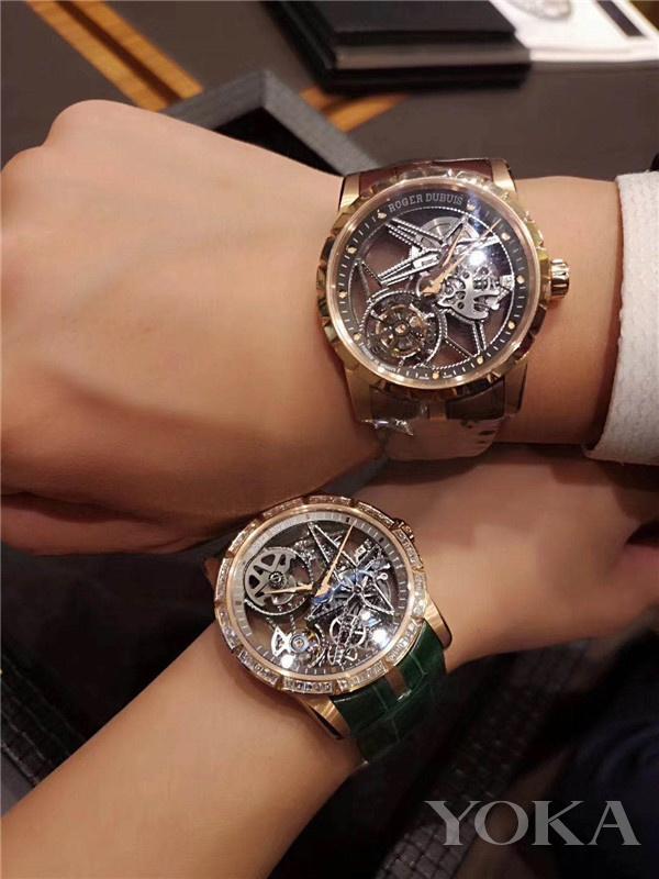 单品推荐:罗杰杜彼Excalibur系列腕表(图片来源于品牌)