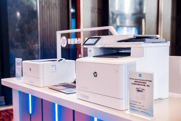 图:惠普传奇系列新品激光打印机