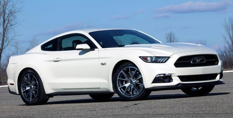 肌肉车里程碑 福特Mustang推50周年纪念款高清图片