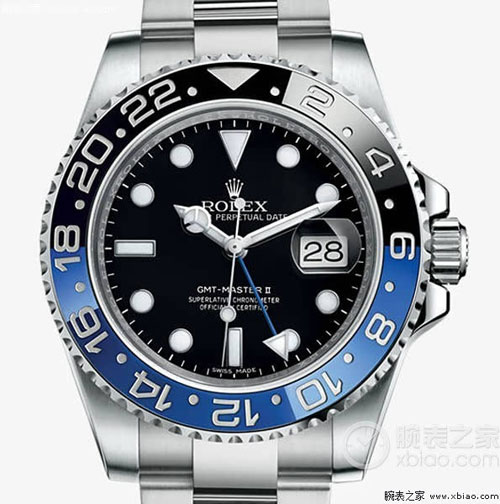 劳力士格林尼治型II系列116710BLNR-78200腕表