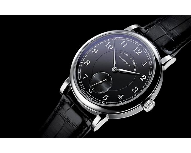 "1815 ""200th Anniversary F. A. Lange""铂金950腕表,限量200枚。"