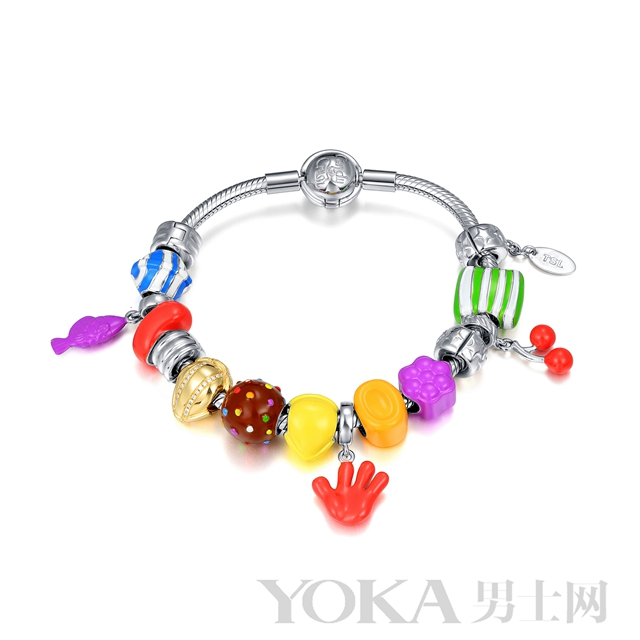 TSL│谢瑞麟 X Candy Crush Saga糖果传奇系列特别版手链
