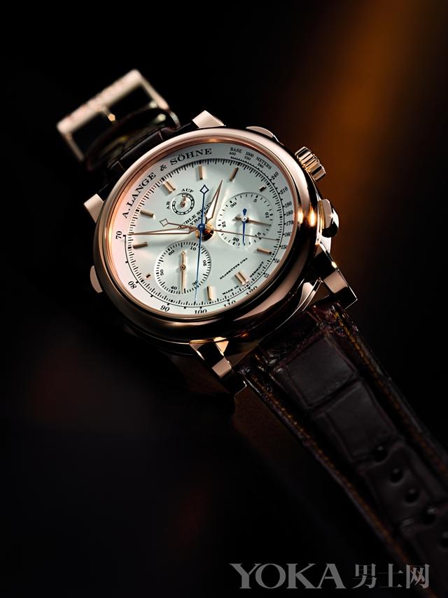 名表档案 朗格秒表功能腕表