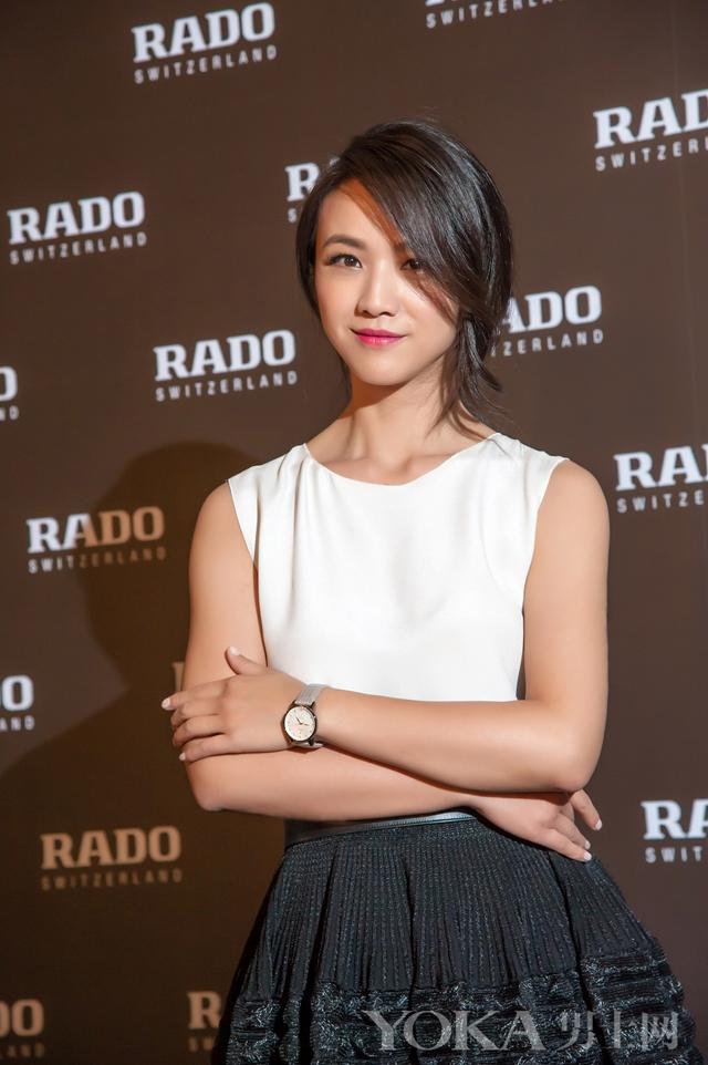 RADO瑞士雷达表品牌代言人汤唯小姐出席新闻发布会