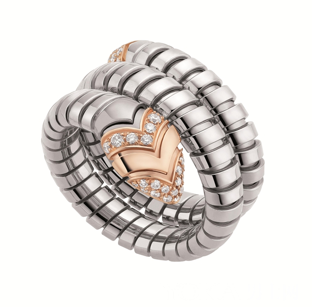 宝格丽推出2015新款Serpenti珠宝