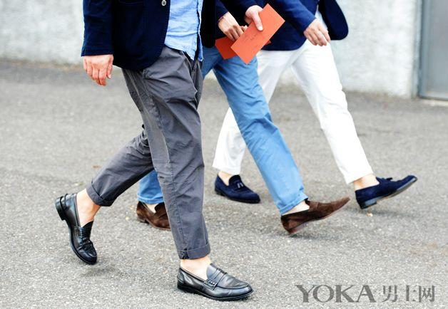 九分裤时髦穿搭术! 做夏日里的长腿型男