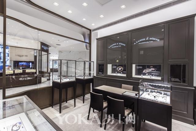 朗格位于北京SKP商场一层的全新专卖店