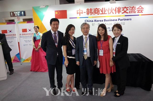 韩国品牌kami&hami亮相韩博会 正式签约进入中国