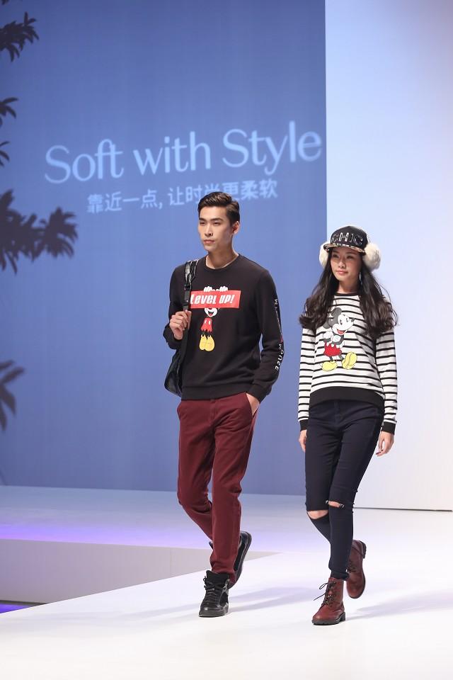 靠近一点 让时尚更柔软 C&A时尚专列盛大启航