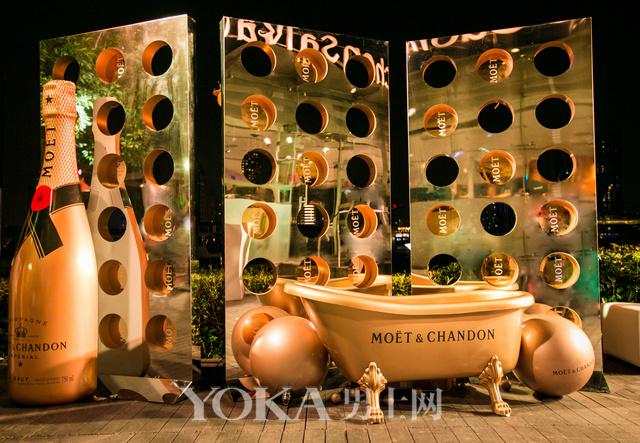 酩悦香槟闪耀呈现2015上海劳力士大师赛欢庆派对
