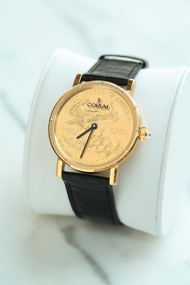 新品 - 昆仑表50周年纪念版金币腕表