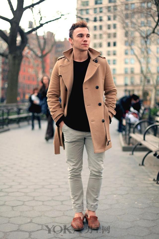 秋冬时髦必杀技 驼色大衣的4个搭配方案