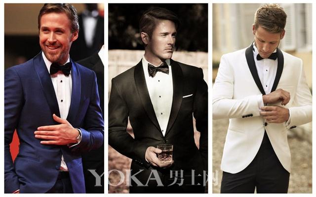 不同风格Black Tie,绅士范儿十足。