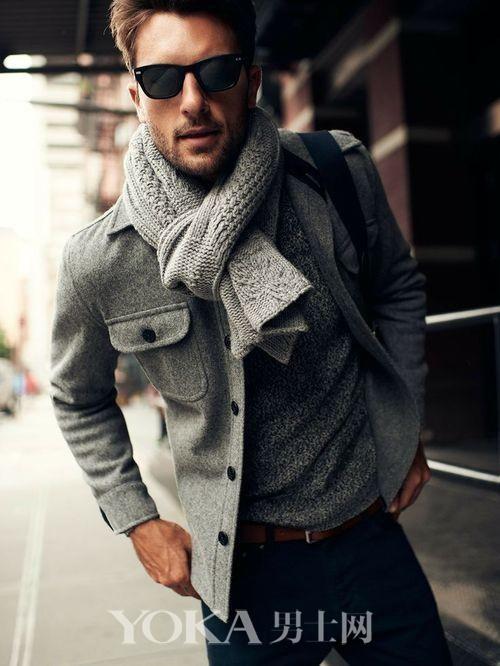 要你戴围巾不只是保暖 搭配懂不懂?