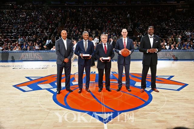 图1:天梭表与五支NBA球队合作正式启动