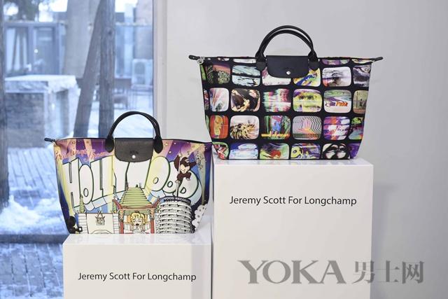 Longchamp庆祝同设计师Jeremy Scott合作10年