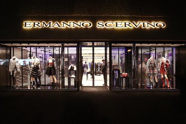 Ermanno  Scervino 中国第一家旗舰店上海开幕