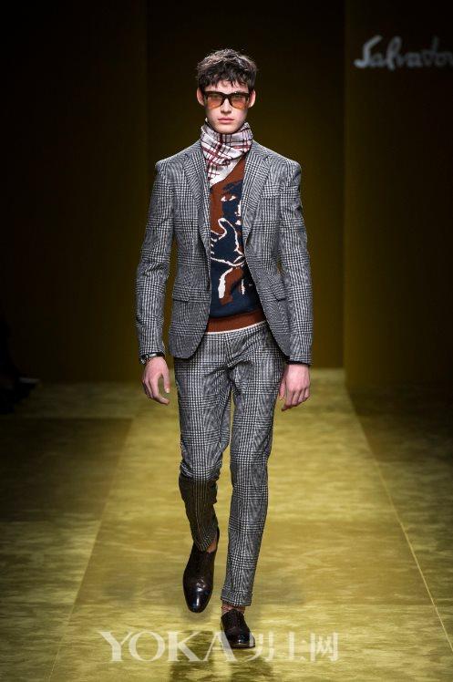 【最新】Ferragamo 塑造摩登精英男性的神秘特质
