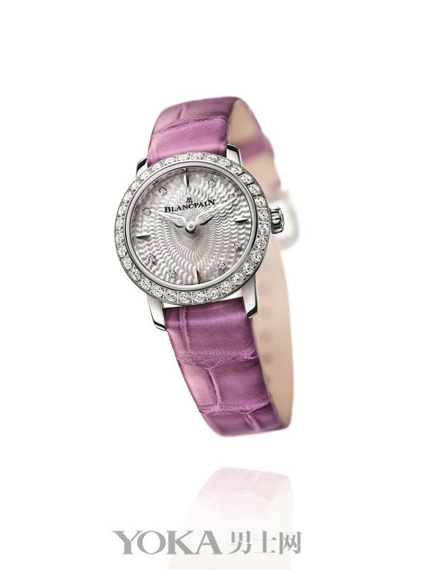 宝珀六十周年纪念版女装系列贵妇鸟(ladybird)腕表