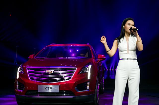 新美式都会SUV凯迪拉克XT5上市