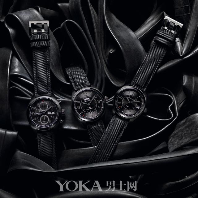全黑腕表的好 只有戴上它你才知道
