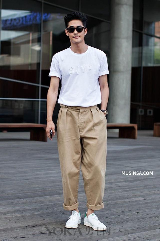 休闲裤到底应该怎么穿?搭得好显高10cm都不止哟