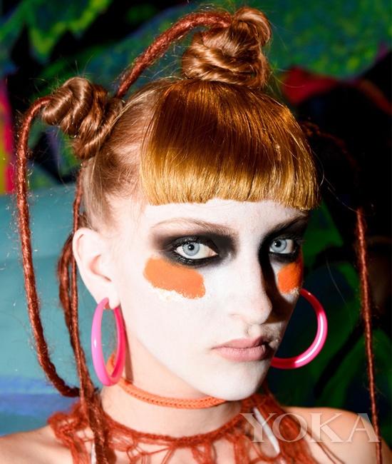 趣味女孩 Sophia Webster2015春夏伦敦秀场妆容
