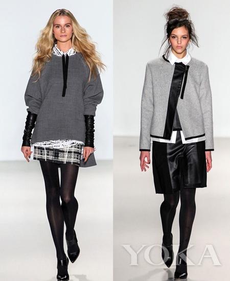 2014秋冬纽约时装周:Marissa Webb秀场