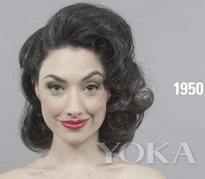 世纪发型进化论 你最爱哪个年代的头发?图片