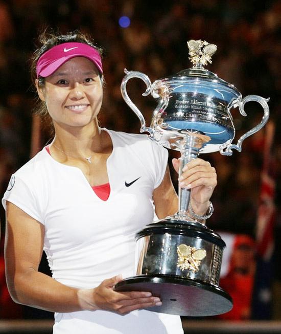 李娜澳网夺冠