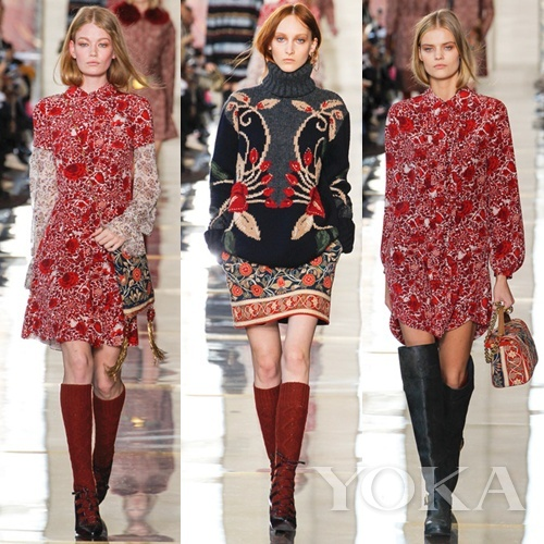 Tory Burch 2014秋冬Collection