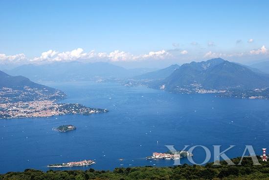 Borromeo家族的Lago Maggiore岛屿