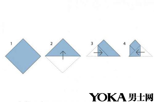 衬衣的折法步骤图片